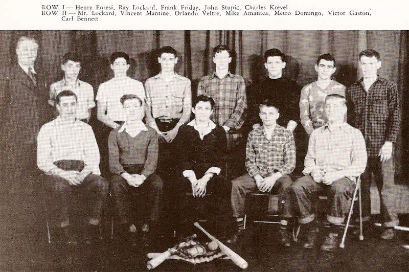 Pine Township High School Baseball (1947)