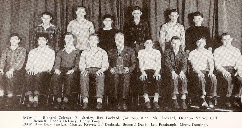 Pine Township High School Track Team (1947)