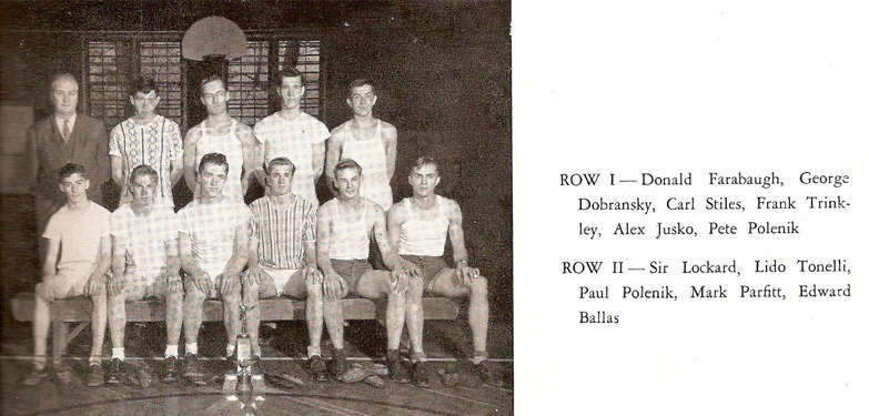 Pine Township High School Track Team (1949)