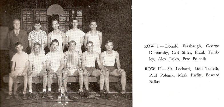 Pine Township High School Track Team (1949)
