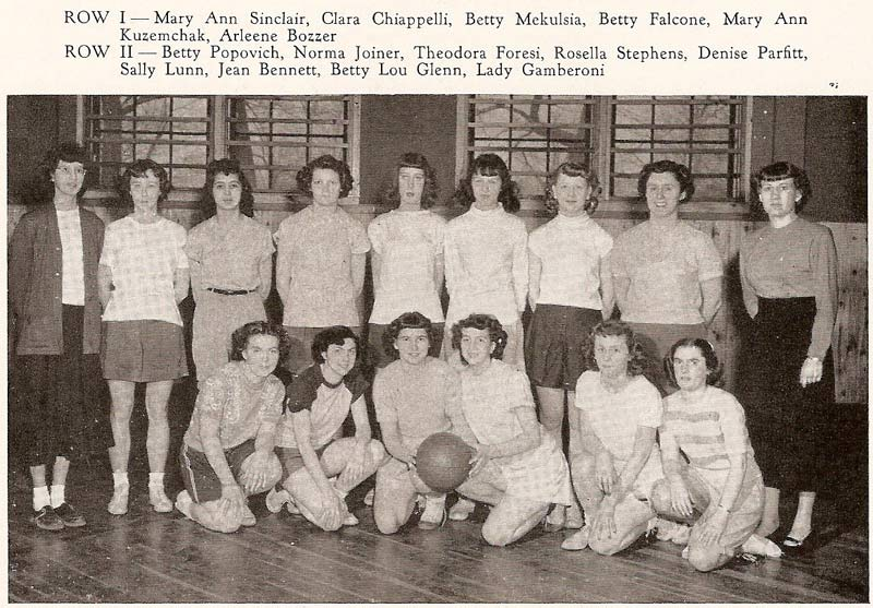 Pine Township High School Girl's Basketball (1950)