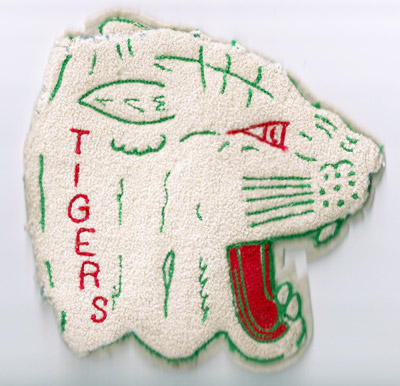 Pine Township High School's tiger logo, adopted in 1946