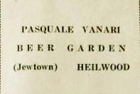 Pasquale Vanari Beer Garden